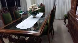 Título do anúncio: Conjunto de Sala em Madeira Maciça de cerejeira!!!