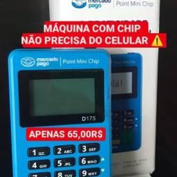 Título do anúncio: MÁQUINA DE CARTÃO