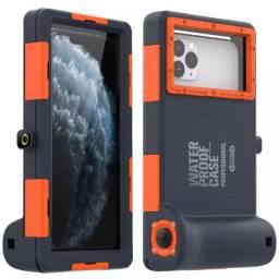 Capa De Mergulho 15m Para iPhone 11, X, 8, 7 E 6 E Galaxy Note e S