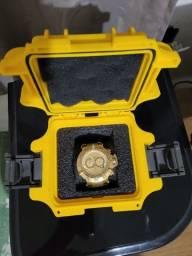 Relogio Invicta 14500 Subaqua Noma 3 Iii B. Ouro 18k 50mm