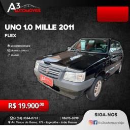 Uno 1.0 Mille 2011 ar/tr/al !!!