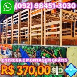 Título do anúncio: Beliche Maciço Confortavel $370,00