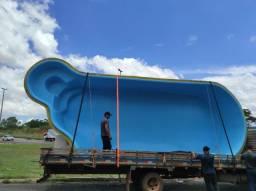 Título do anúncio: Piscina de fibra 9 metros oval kit básico