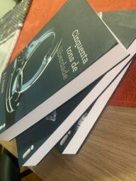Livros trilogia cinquenta tons de cinza