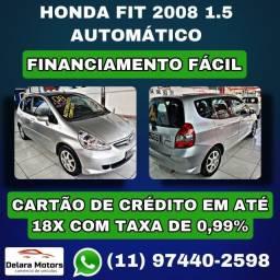 Honda Fit Ex 2008 Automático - Financiamos