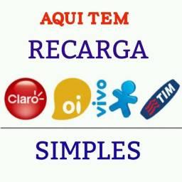 Recarga De Celular Online Oi, Claro, Vivo E Tim Crédito R$15