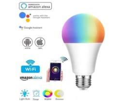 Título do anúncio: Lâmpada LED Inteligente RGB 9W com Conexão WiFi