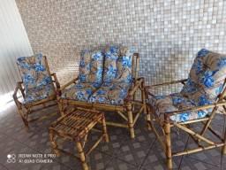 Jogo cadeira de Bambú direto da fábrica com garantia