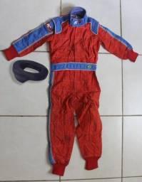 Macacão Kart Homologado Infantil