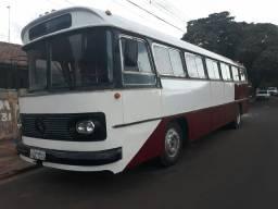 Onibus mercedes benz ano 1974 motor 1313 turbinado modelo 362