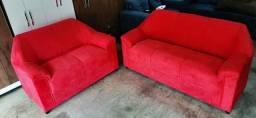Título do anúncio: sofa 03 e 02 lugares novo