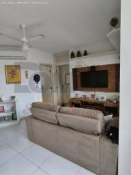 Título do anúncio: Apart. com móveis e ar-condicionado no Edf. Praia das Fontes - 3/4