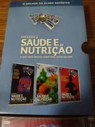 Título do anúncio: DVD globo repórter saúde e nutrição