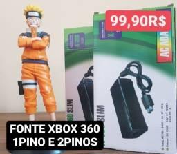 Título do anúncio: Fonte Xbox 360