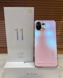 Título do anúncio: Mi 11 Lite Pink 128 GB Lacrado (Maior Garantia da Ilha)