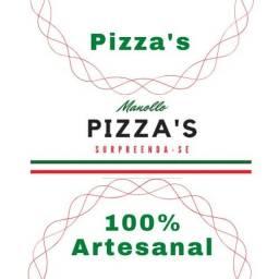 Massas pré cozida para pizzaria