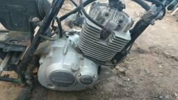 Motor de Suzuki 125 com nota fiscal