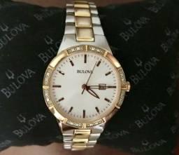 Relógio Bulova Diamond Feminino 98R169