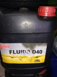 Óleo lubrificante D40 para motor diesel 20 litros 249,00