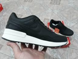 Nike couro preto novo Zerado na caixa aceito cartão entrego 0e5cdb5dfaa51