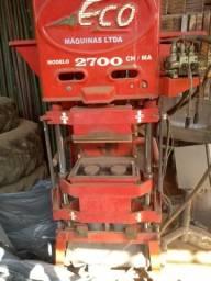 Máquina de fabricar tijolo ecológico
