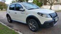 Renault Sandero Stepway Rip Curl Branco Lindo! - 2012