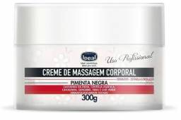 Creme de Massagem Corporal Pimenta Negra 300g - Ideal
