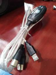 Cabo Midi x USB