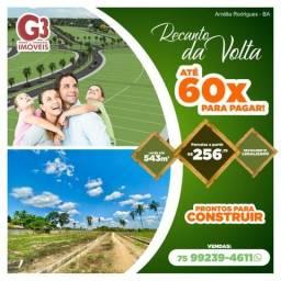 Lotes a partir de 260m2 / Prontos pra Construir / Amélia Rodrigues