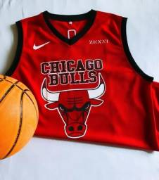 Regata Chicago Bulls Vermelha- Treino