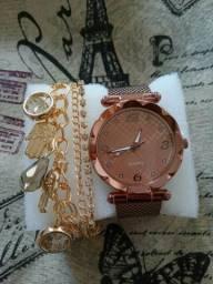 Queimão relógio+pulseira