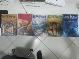 Harry Potter Livros 1 À 5