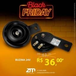 Buzina 24V - Oferta!!! ZM Equipamentos - Black Friday