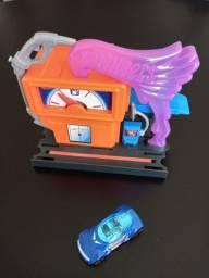 Conjunto Hot Wheels Mattel Downtown Speedy Fuel Stop