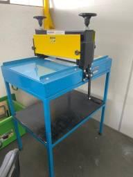Máquina Serigrafia -Maquina De Corte E Vinco Calandra 40cm Manual 55x80x130cm