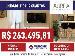 Aurea Residencial - 50 a 66m² - Nova Iguaçu, RJ