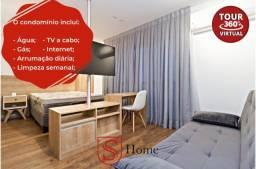 Apartamento com 1 quarto para aluguel Centro Curitiba - PR