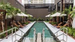 Apartamento à venda com 1 dormitórios em Itaim bibi, São paulo cod:116736