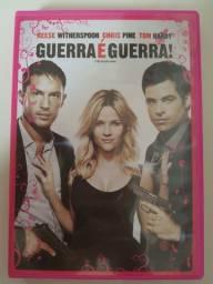 DVD: Guerra é guerra.
