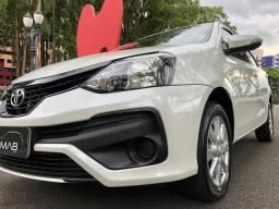 Toyota etios hatch xplus top de linha automatico unico dono particular
