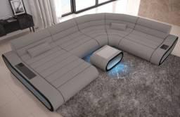 Sofá mega conforto ( 5 anos de garantia )