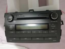 Vendo um som do Corolla 2010 a 2014
