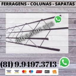 Ferragens , Colunas e Sapatas Direto da Distribuidora 34220974