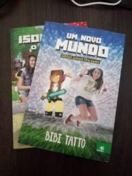 Livros da Bibi Tatto 2016 e 2017