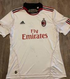 Camisa Milan Autografada Ibrahimovic, Ambrosini, Gattuso