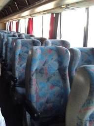 Bancos de ônibus rodoviário