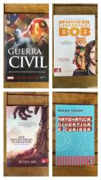 Livros variados a partir de 10,00 reais