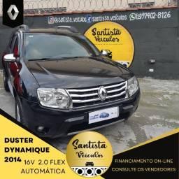 Título do anúncio: Renault Duster Dynamique 2.0 Flex Automática  2013/2014