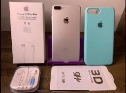 Título do anúncio: !! iPhone 7Plus ?> 100% de bateria e impecável