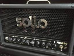Título do anúncio: Amplificador Guitarra Sollo Amps + Caixa + Foot Switch + Bag